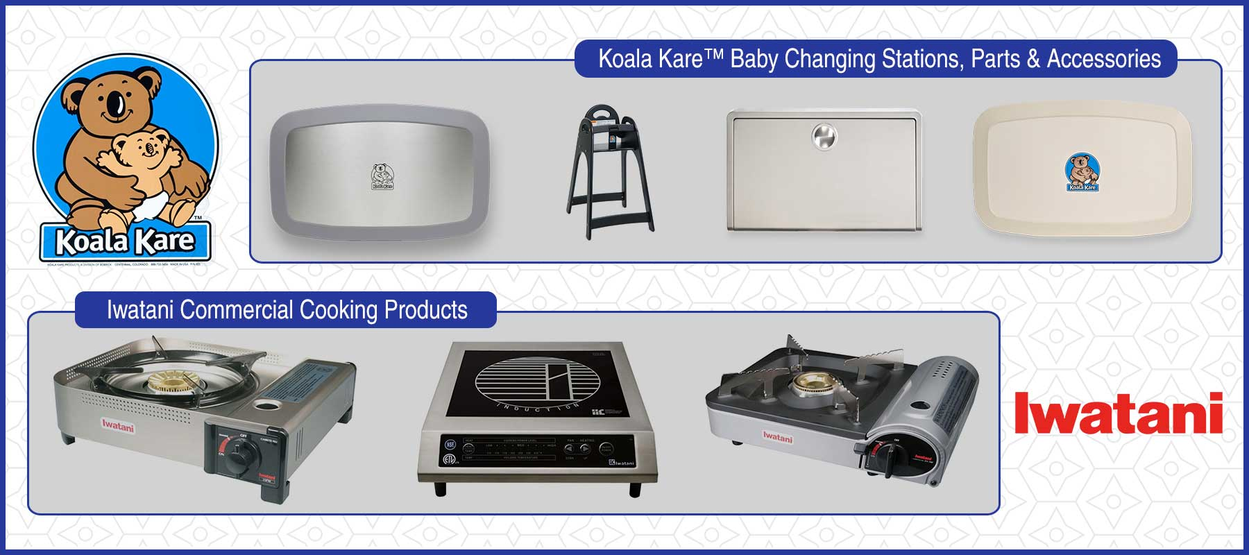Koala Kare and Iwatani product distribution