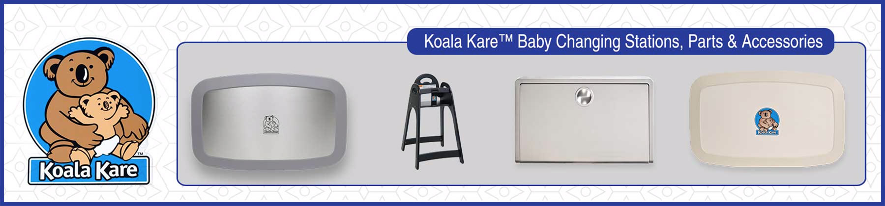 Koala Kare commercial changing stations distribution Canada